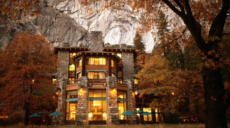 Fall in the Yosemite Valley - Majestic Hotel