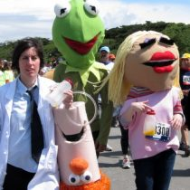 The Muppet Show gang. Photo by Frog Mom