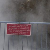 Danger warning