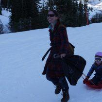 Run mom run!