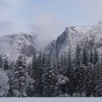 Snow on the valley