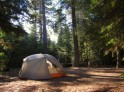 Tent at Sugar Pine Point campground