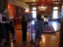 Kids visiting the hellman-Ehrman Mansion