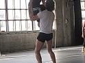 Jodi Lomask practices a jump figure