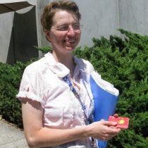 Dr Kim Ennico in 2009