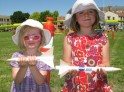 My girls built flying rockets at the AMES Research Center
