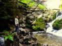 To Limekiln Waterfall upper pool