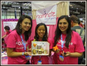 Alice, Bettina and Jennifer from Roominate