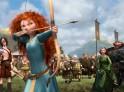 The archery contest.  ©2012 Disney/Pixar