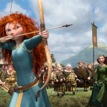 The archery contest.  ©2012 Disney/Pixar