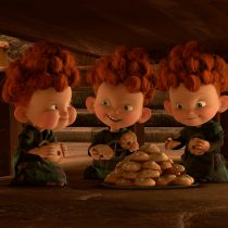 The Triplets: Hubert, Hamish and Harris. ©2012 Disney/Pixar.