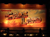 Welcome to Cars Land Sign