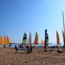 The sailing school's fleet