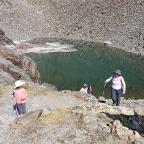 After glacial lake
