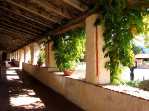 Carmel Mission promenade