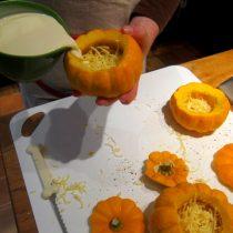 Adding the cream