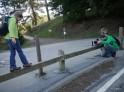 Balancing at Redwood Regional Park