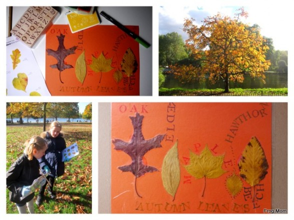 Fall Leaf Placemat DIY