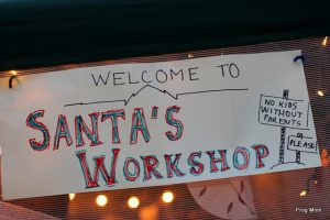 Santa's Workshop at home