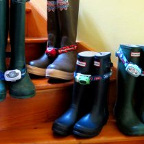 Rain boots and headlamps at the ready