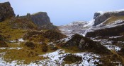 Views of the Quiraing, Trotternish ridge, Isle of Skye