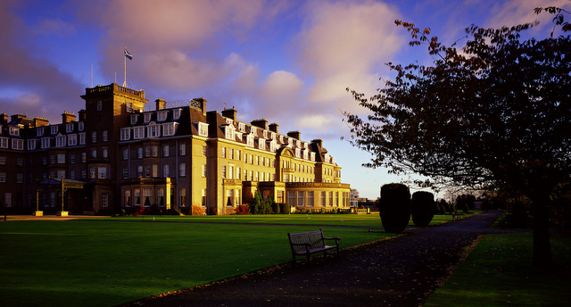 View of the Gleneagles Hotel