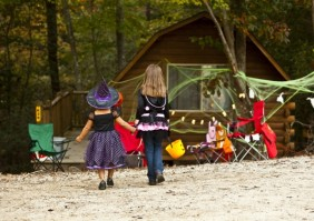 The magic of Halloween outdoors. Photo courtesy of KOA