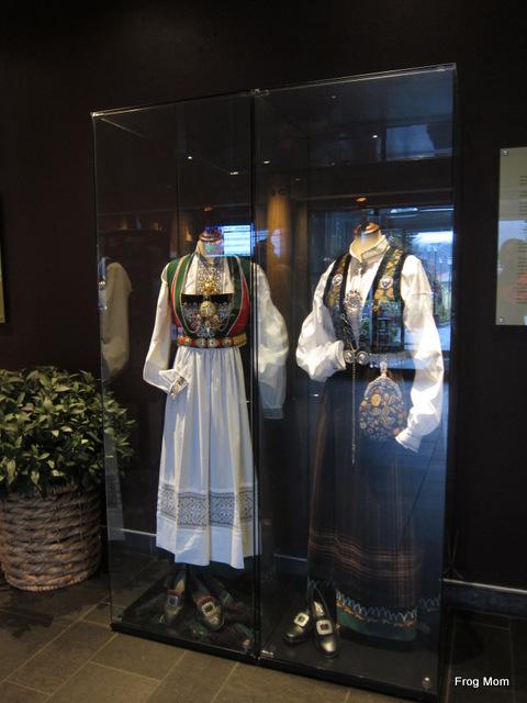Bunad - traditional folk dress in Norway
