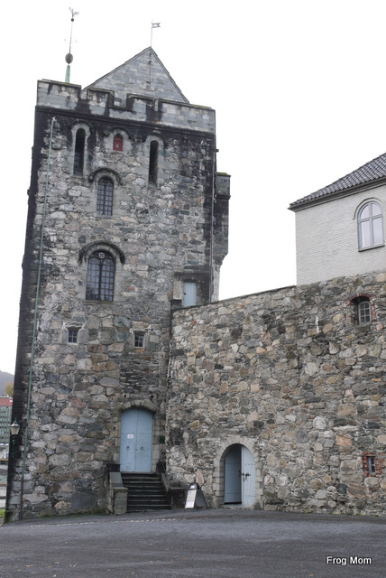 Rosenkrantz Tower in Bergen