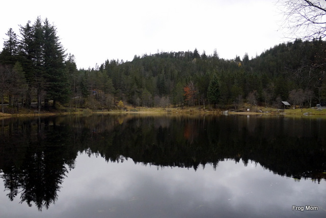 Lake on Mount Floyen