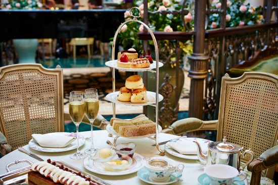 Afternoon teas with children in London