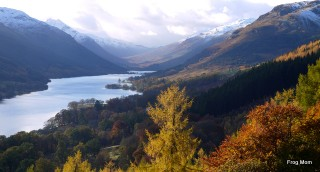 The loch at Balquhidder