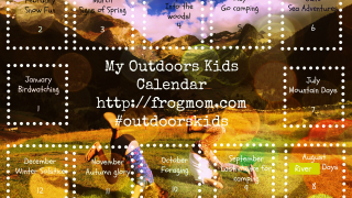 Outdoors Kids Calendar River Days