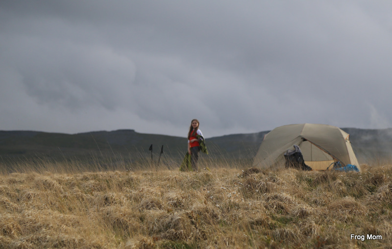 Wild Backpacking with Kids in the Brecon Beacons