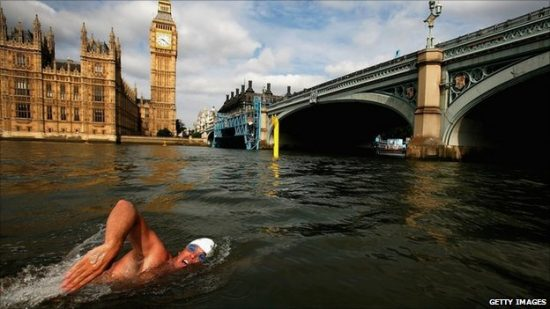 Wild Swimming London Lewis Pugh