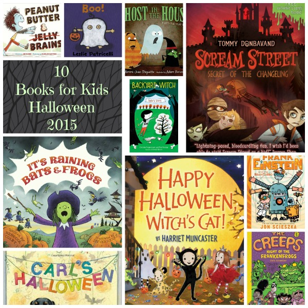 picmonkey collage halloween books for kids - Halloween Kids Books