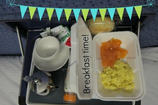 Caledonian Sleeper breakfast time