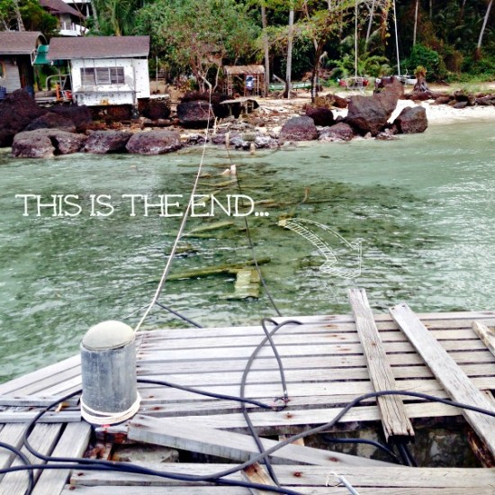 Koh Mak this is the end