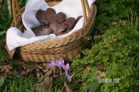 chocolate sea salt heart sables