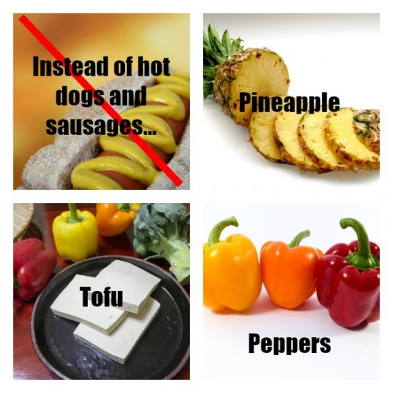 Healthy alternatives to hot dogs and sausages