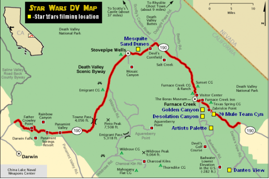 death valley national park map pdf
