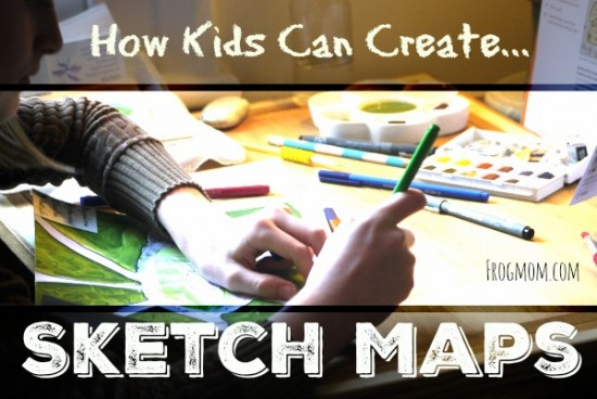 How Kids Can Create A Sketch Map