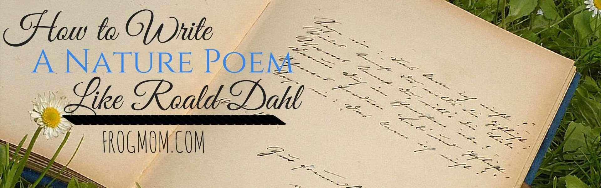 Roald dahl essay