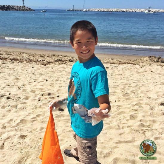 Kids to Parks - Leave No Trace Trash