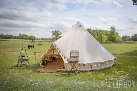#3 SoulPad Bell Tent & Frog Mom