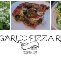 Wild Garlic Pizza Recipe