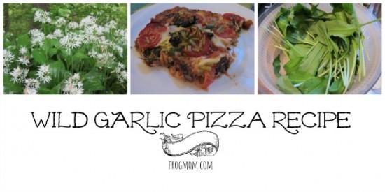 Wild Garlic Pizza Recipe