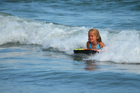 Things to do at the Beach with Kids - Boogie Board