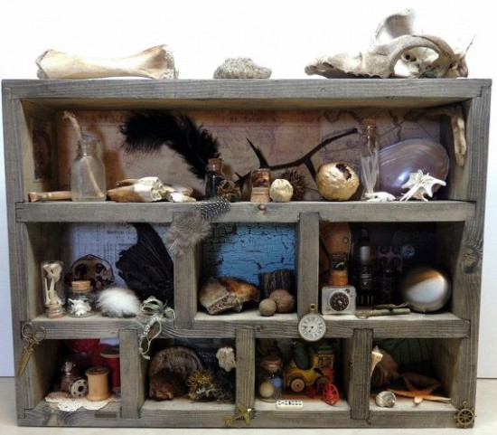 Things to do at the beach - Curio Cabinet