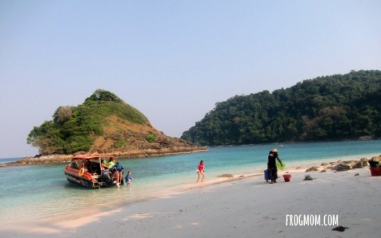 Snorkeling with kids in Thailand   A Live Aquarium